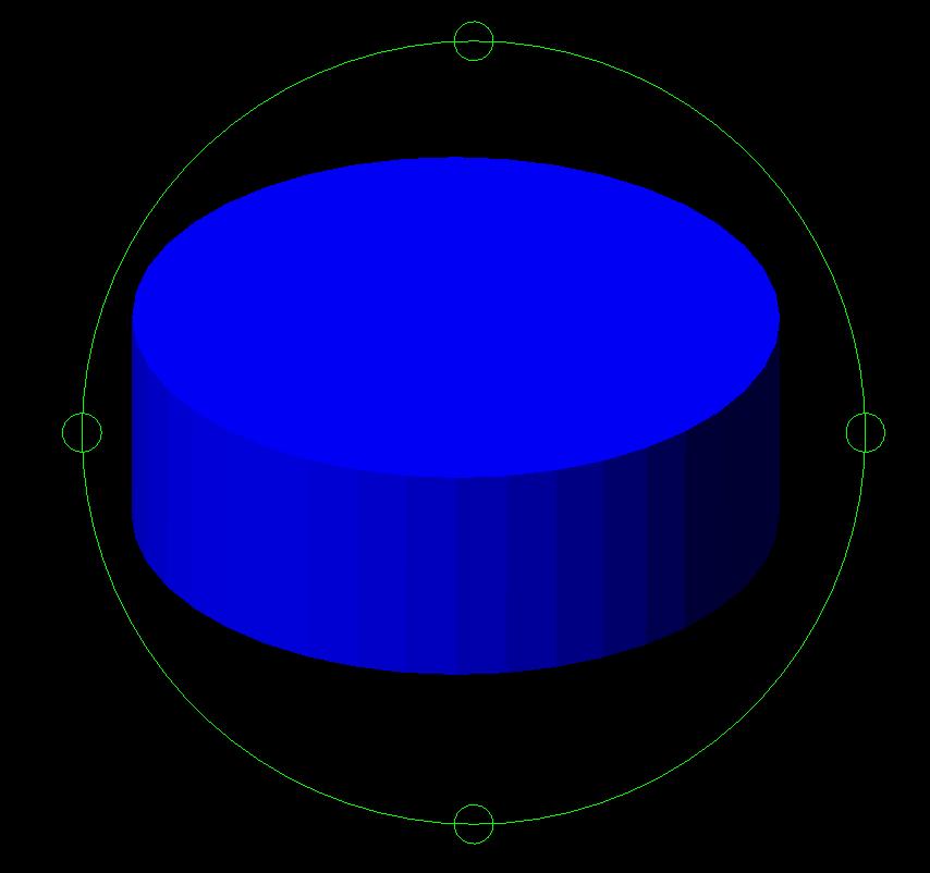 an initial blue cylinder
