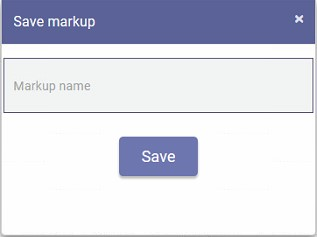 save markup